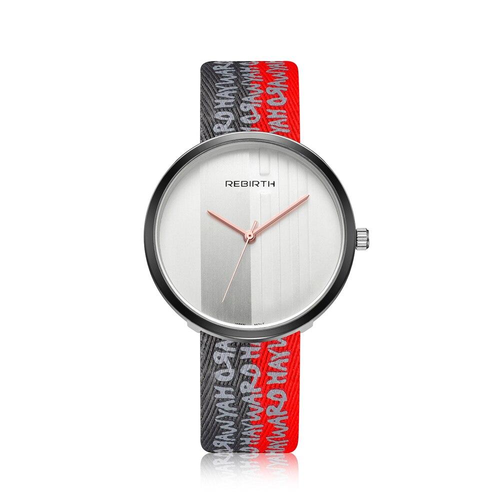 661294a4e8d74 Top Marke WIEDERGEBURT Frauen Uhren Vintage Retro Armbanduhr PU Band  Quarz-Uhr Weibliche Uhren Mujer Montre Femme