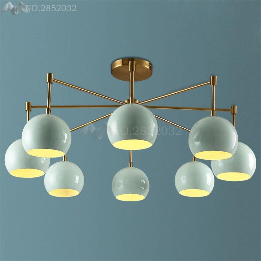 Потолочные светильники с поверхностным креплением в скандинавском стиле, современные светодиодные потолочные светильники для кухни, детс