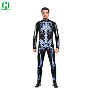 Image 2 - Halloween Horror Skeleton Cosplay Costume Masquerade Children Adult Men and Women Products Costumes fancy dress Play Party