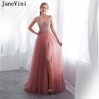 a66975b835 JaneVini Deluxe Burgundy Sequined Prom vestidos de bola del cordón del oro  Appliques cuentas borla partido nupcial de la boda Vestido de dama de largo