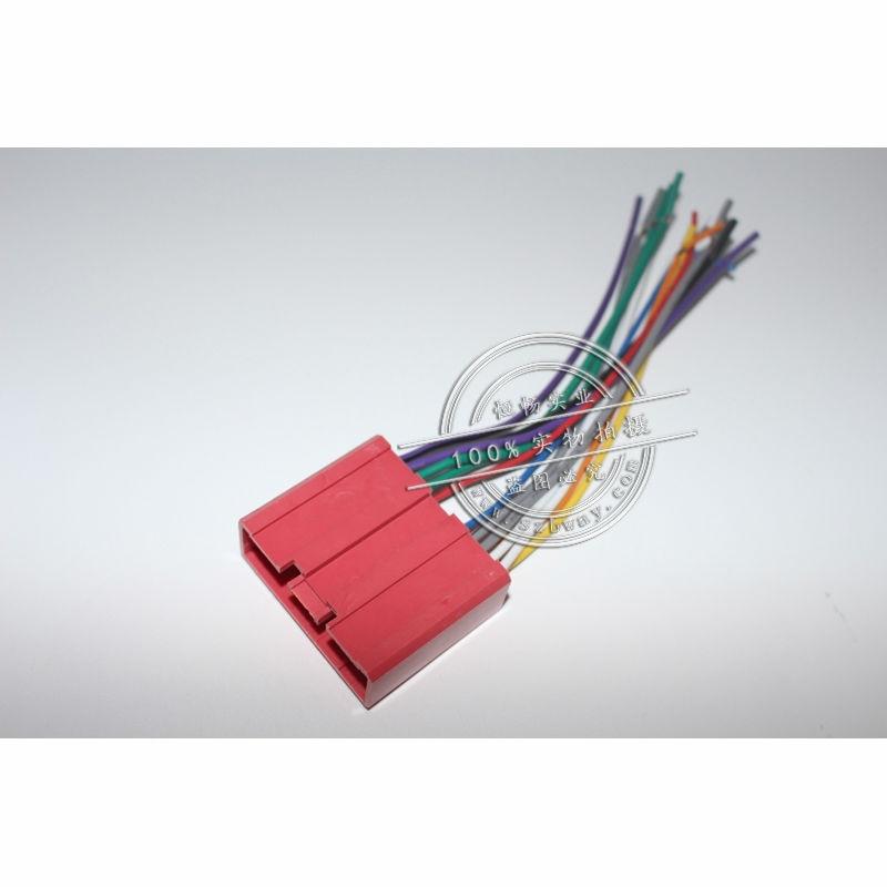 Auto Radio Stereo Weibliche ISO Plug Power Adapter Kabelbaum für ...