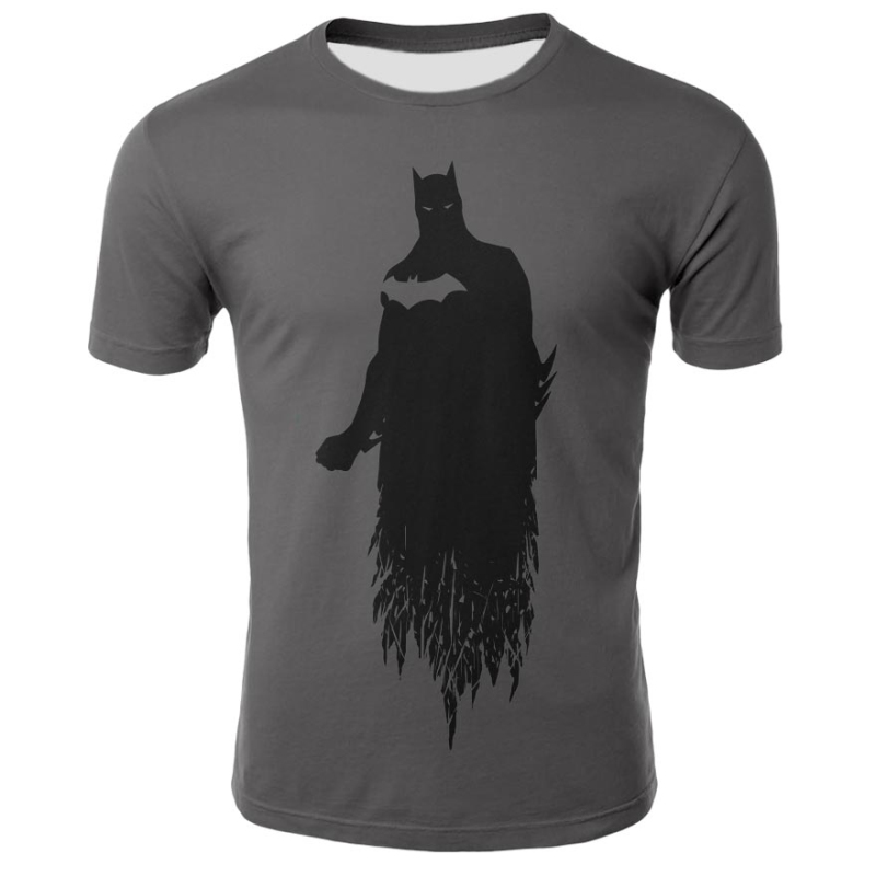 Newest Batman Tops Compression Funny Tees Fitness Superhero Superman Tshirts Summer Round Neck 3D Printed T Shirt ZOOTOP BEAR