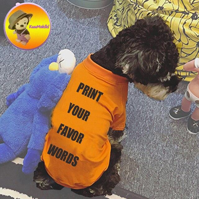09f9c6b93cb5 Custom Design Hand Made pets T shirt Puppy shirt shirts dog clothes pet  coat dogs vest