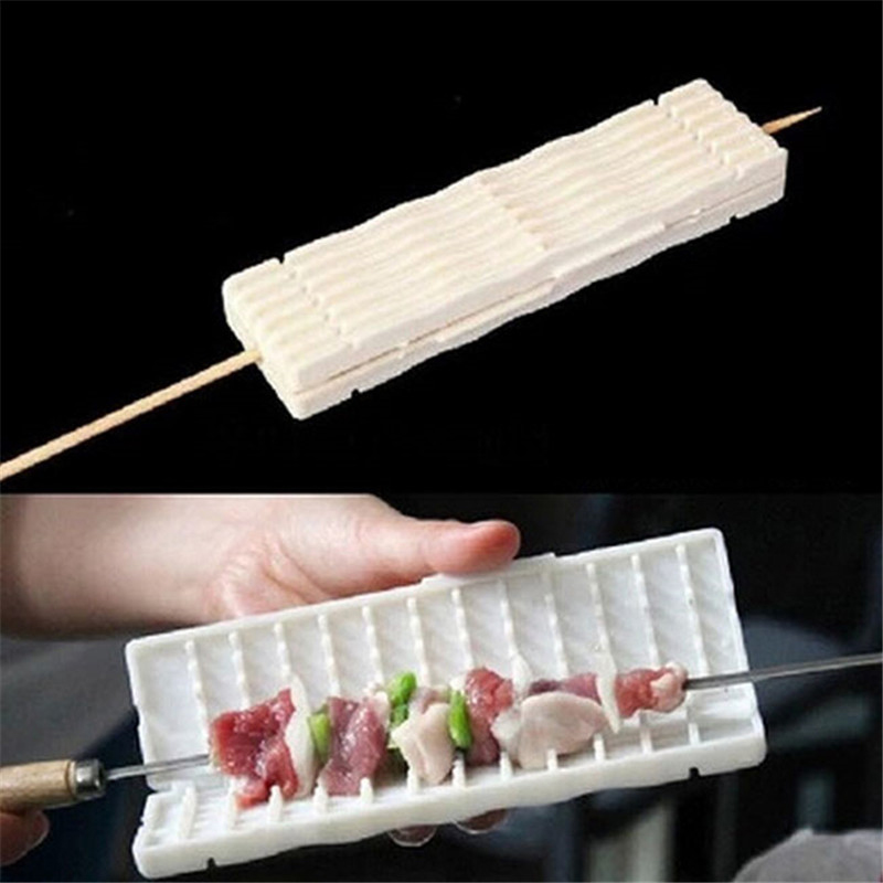 white-wear-string-BBQ-tools-Multi-function-barbecue-Skewer-machine-wear-meat-vegetable-string-cooking-accessories (7)