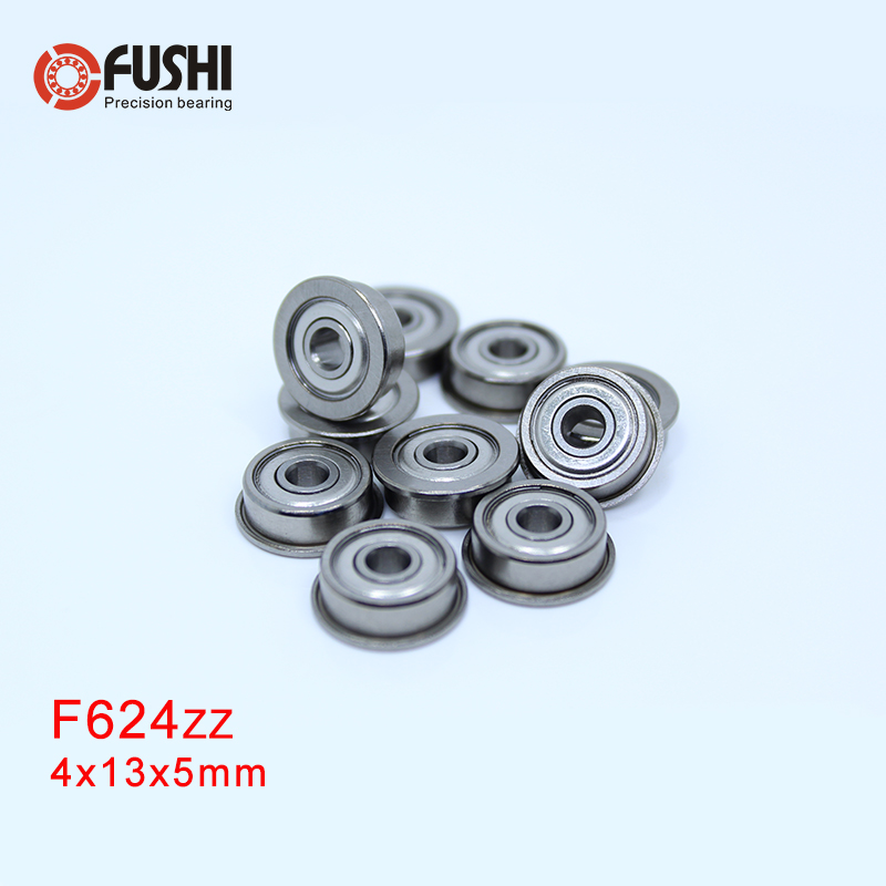Miniature Metal Bearing Flanged Ball Bearing MF126ZZ 6x12x4mm 10 PCS