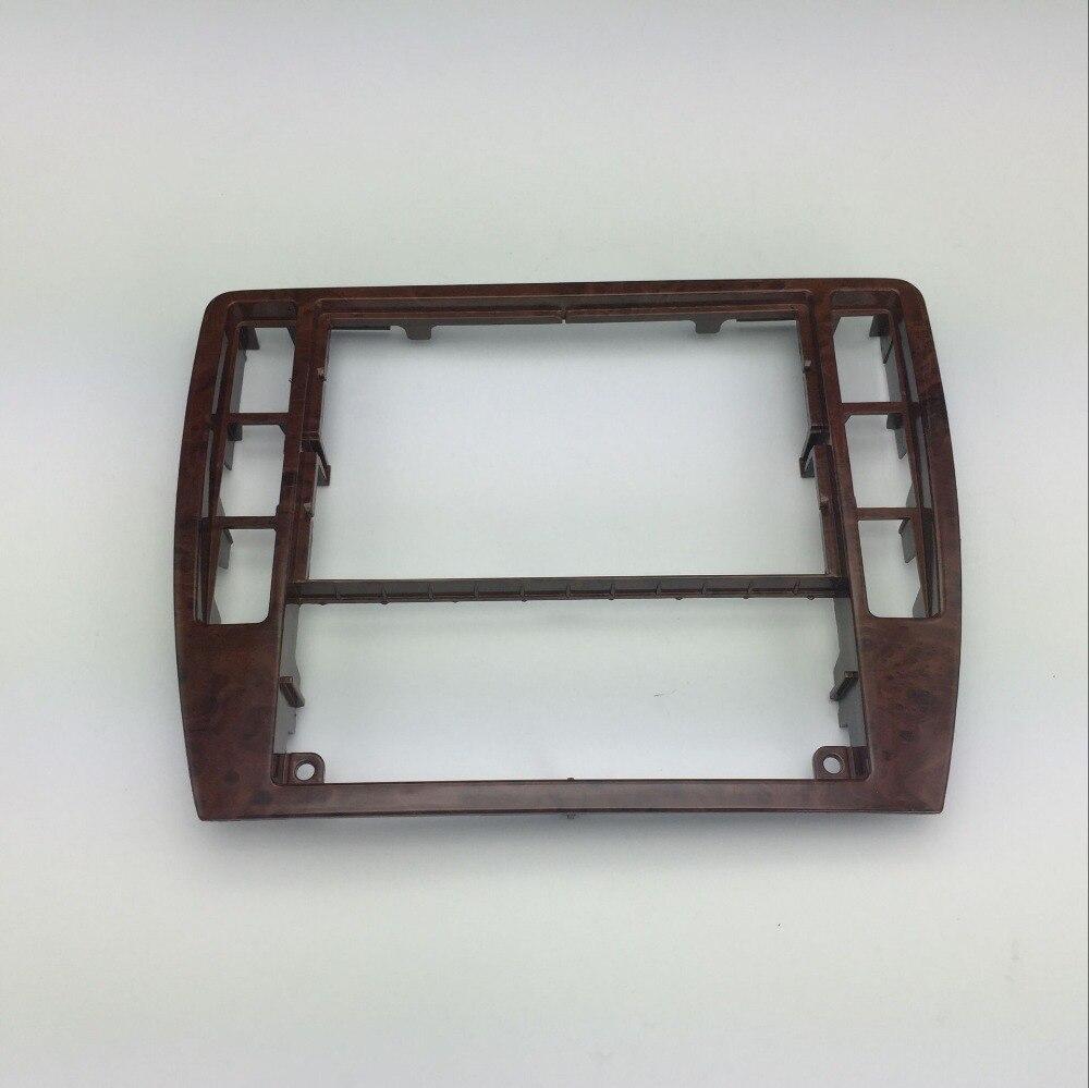 Pour VW Passat B5 Instrument Central CD Boîte En Bois de Cerisier décoration Radio Garniture Panneau En Bois Air Conditionné Cadre 3B0 858 069