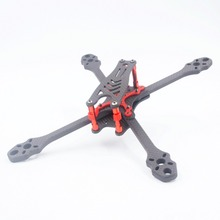 ALFA Monster FPVคาร์บอนไฟเบอร์ 5/6/7 นิ้ว 215 มม.245 มม.275 มม.ฐานล้อ 6 มม.แขนความหนาสำหรับDIY RC FPV Racing Drone