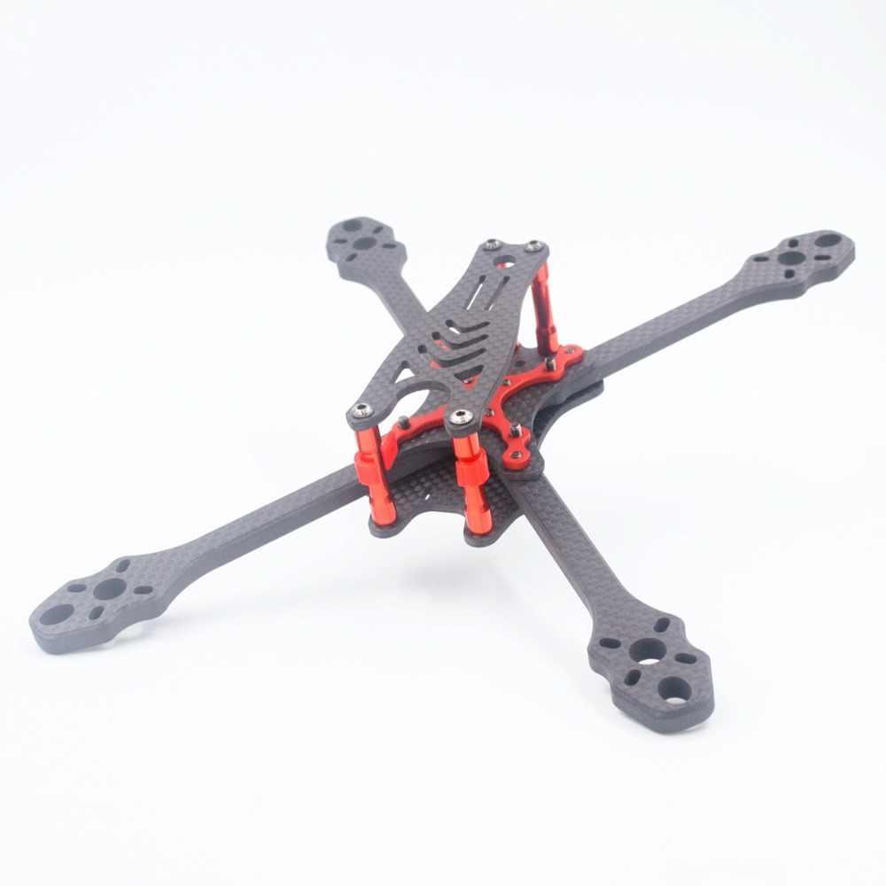 ALFA Monster FPV fibre de carbone 5/6/7 pouces cadre 215mm 245mm 275mm empattement 6mm épaisseur de bras pour bricolage RC FPV course Drone