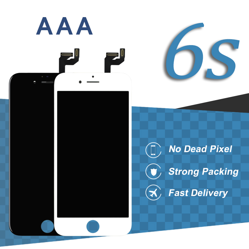 5pcs AAA For iPhone 6S LCD Display With Camera Holder Ear Mesh For iPhone 6 S