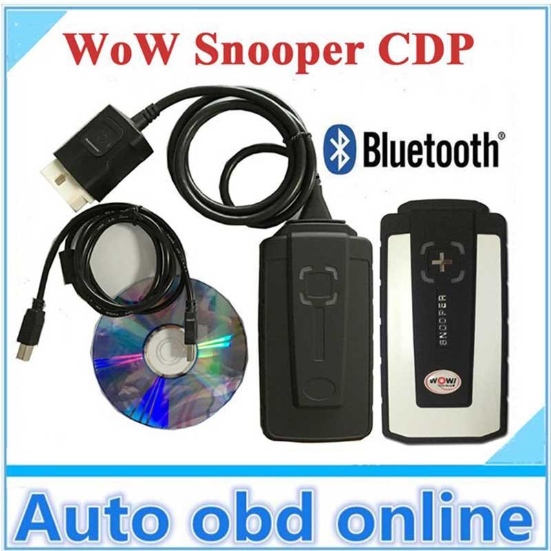 2018 WOW Snooper v5.008 R2 с Bluetooth Бесплатная keygen грузовик автомобиля диагностический инструмент Vd Tcs Cdp Pro Plus Multi Язык