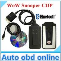 2019 WOW Snooper v5.008 R2 With Bluetooth free keygen car truck Diagnostic tool Vd Tcs Cdp Pro Plus Multi Language