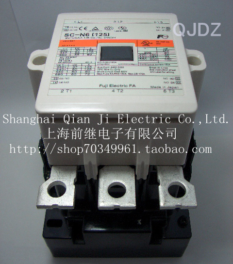 SC-N6 [125] AC contactor ac contactor sc n5px