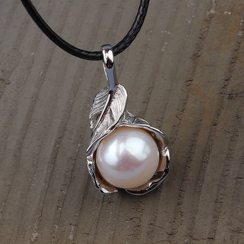 2020 Cluci Cage Pendants Choker Necklace Asg Heitai Jewelry Wholesale S925 Feather Pearl Drop Female New Item One Substitute