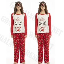 Fashion Christmas Family Mom Daddy Baby Kid Reindeer XMAS Party Pajamas