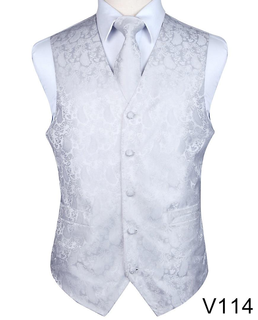 Mens Classic Striped Tie Black JACQUARD WOVEN 100/% Silk Ties Necktie Casual V114