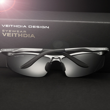 VEITHDIA Brand Aluminum Polarized Sunglasses Men Sports Sun Glasses Driving Glasses Mirror Goggle Eyewear Male Accessories 6529
