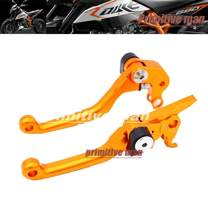 For KTM 125SX/EXC 2005-2008 200XC/XC-W/EXC Motocross dirt bike CNC Pivot Brake Clutch Levers