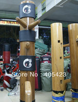 New Upgraded Wing Chun Wooden Dummy Head Pads Sheath Muk Yan Jong Mook Yun Jong Protecting