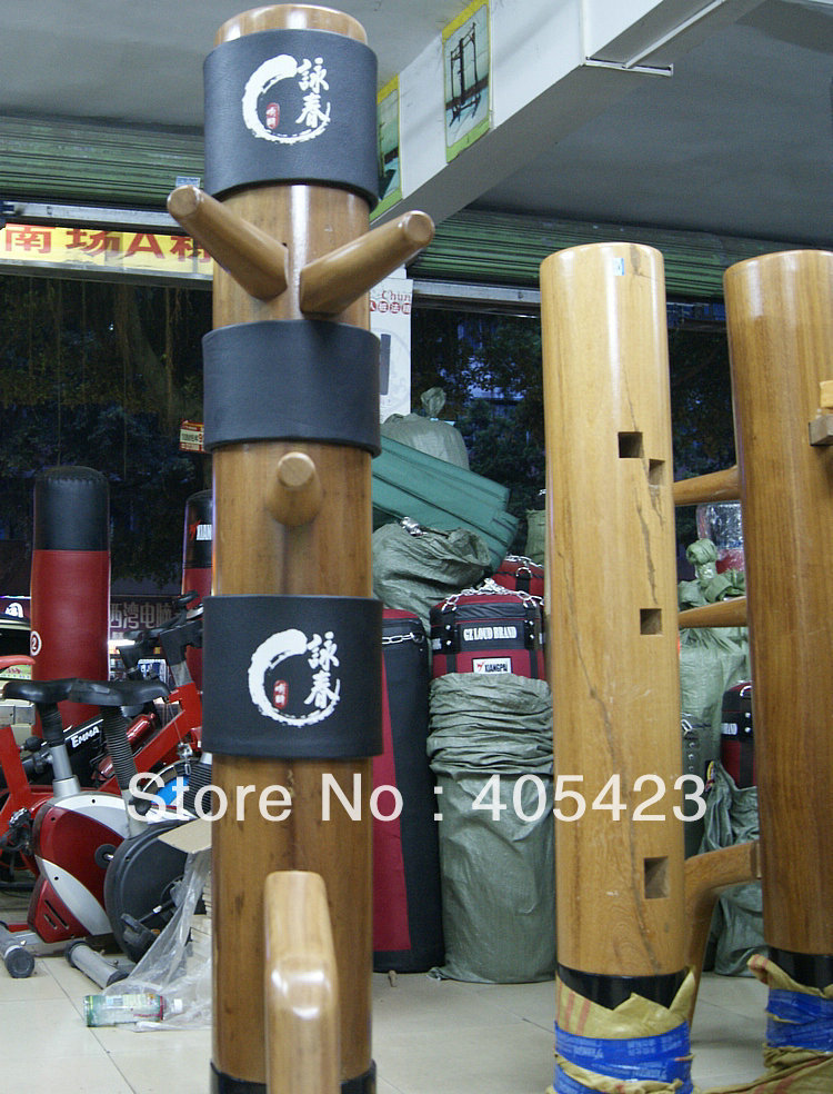 new upgraded wing chun wooden dummy Head Pads,Sheath,Muk Yan Jong Mook Yun Jong protecting bush holiday gift supplies,3pcs/set master recommend movement triangle frame wing chun wooden dummy donnie ye used standard kung fu wooden dummy martial arts