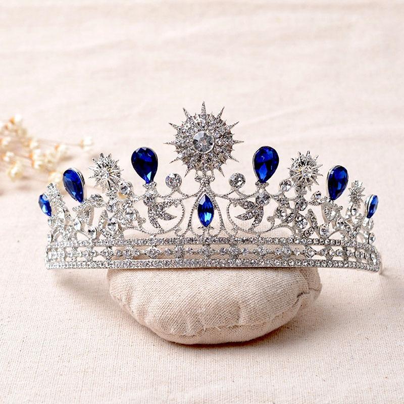 تيجان ملكية  امبراطورية فاخرة The-new-font-b-bridal-b-font-crown-font-b-blue-b-font-crystal-wedding-hair