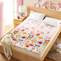 cartoon Folding soft mattress  queen full twin size 3.5cm thickness