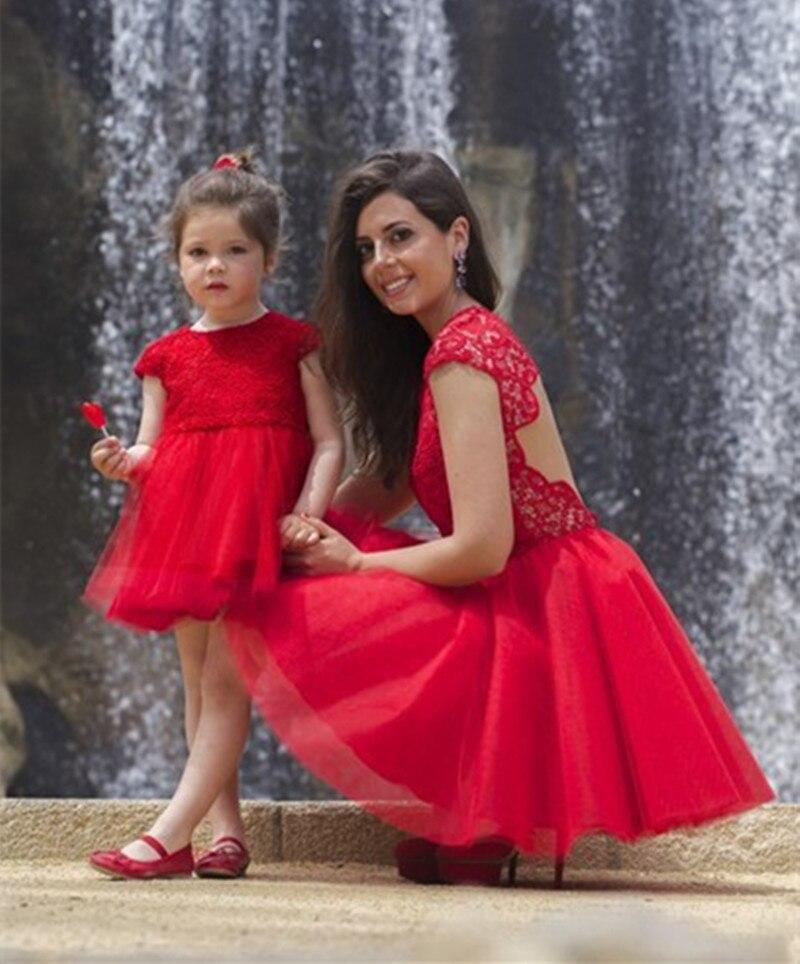 Vestidos cortos para mama e hija