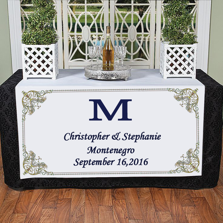 Personalized India Style Casamento Decoracao Manteles Para Mesa Wedding Reception Decoration table cloth rectangular