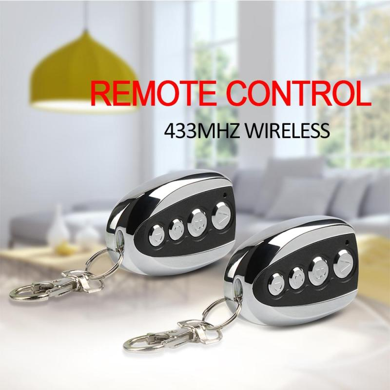 10Pcs Wireless 433MHz 4 Ch DC 12V Remote Control 433 MHz RF Copy Transmitter Duplicating Cloning Function Key Fob Garage Opener