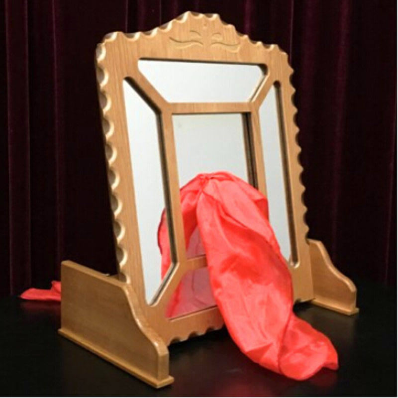 Silk Thru Mirror -Remote Control/Silk Through Glass - Magic tricks,accessories,stage,gimmick,comedy,illusion