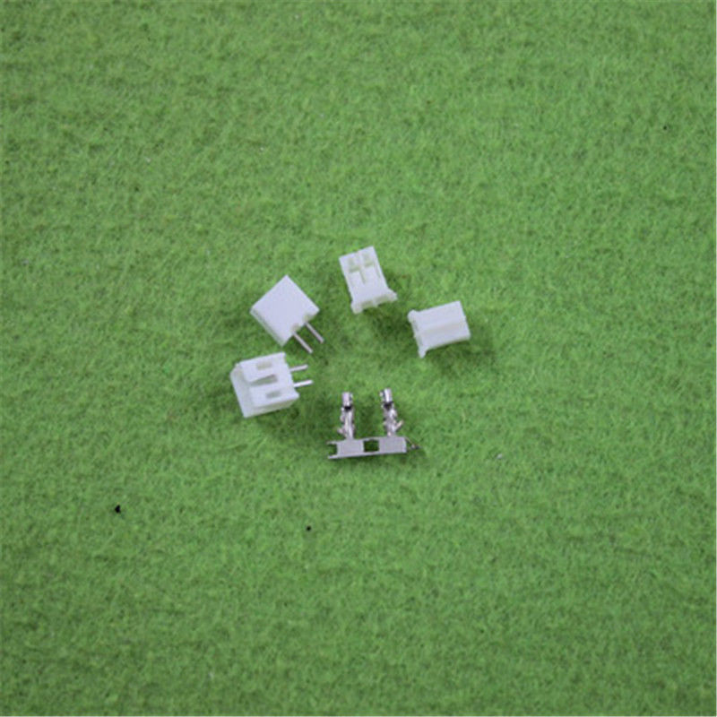 100 Sets, Micro JST 2.0 PH 2-Pin Connector plug Male ,Female, Crimps mini micro jst 2 0mm t 1 6 pin connector w wire x 10 sets 6pin 2 0mm