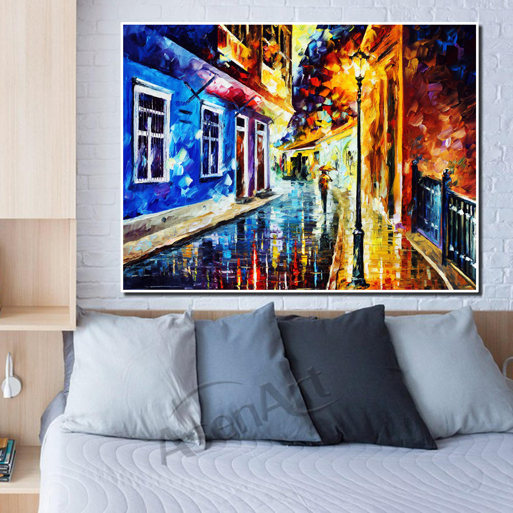 Us 5 04 52 Off Wall Art Modern Picture Beautiful Old Building Structure Print On Canvas Painting For Living Room Bedroom Wall Decor Unframed In