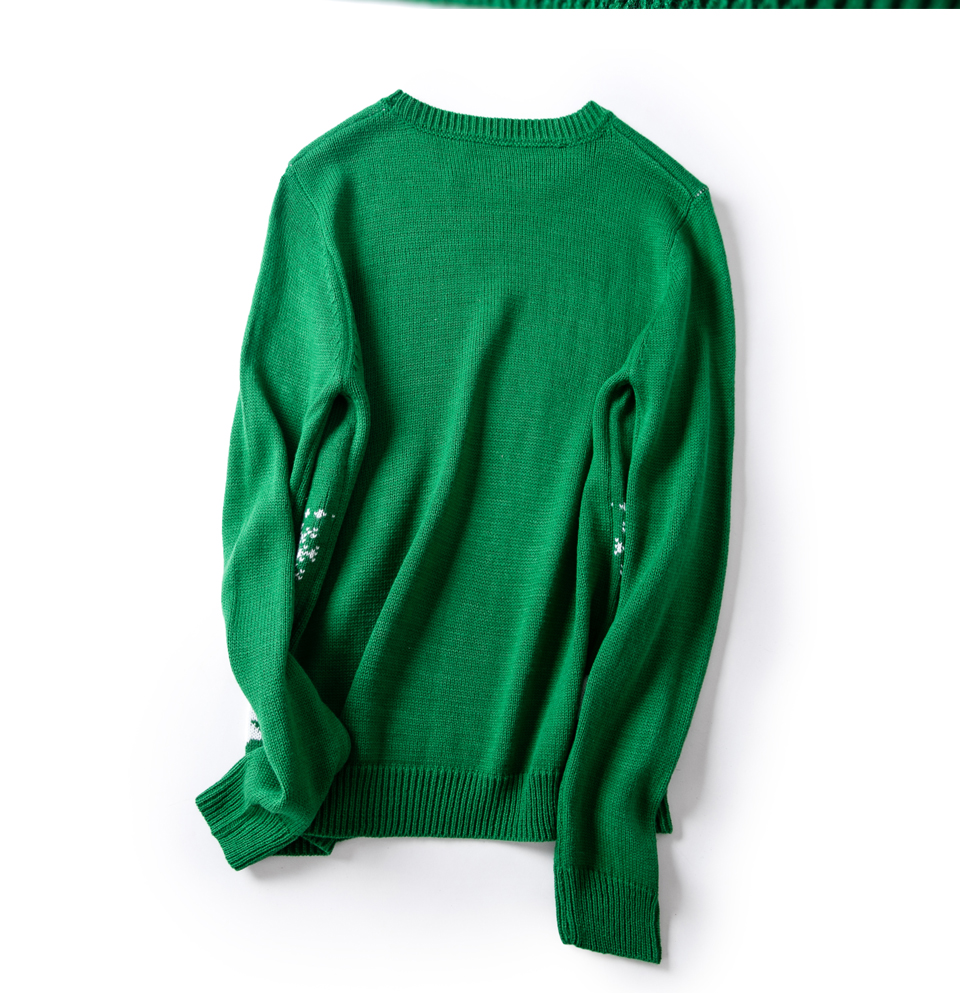 HTB1dRjkrbsTMeJjy1zbq6AhlVXaY - Christmas Sweater Cute Dachshund Embroidery Snow Letter Women Pullovers Long Sleeve Knitting Outwear PTC 287