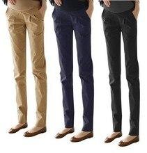 Карьеры беременным одежда, брюки, высота беременности талии джинсы леггинсы лето беременных