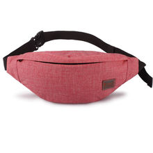 Women Mens Waist Bag Fanny Pack Nylon Belt Bags Small Purse Phone Pouch Packs Chest Pochete For