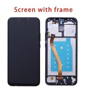 """Image 4 - Dla 6.3 """"Huawei Mate 20 lite mate 20 lite ekran wyświetlacz LCD + digitizer panel dotykowy dla Mate 20 lite + rama"""