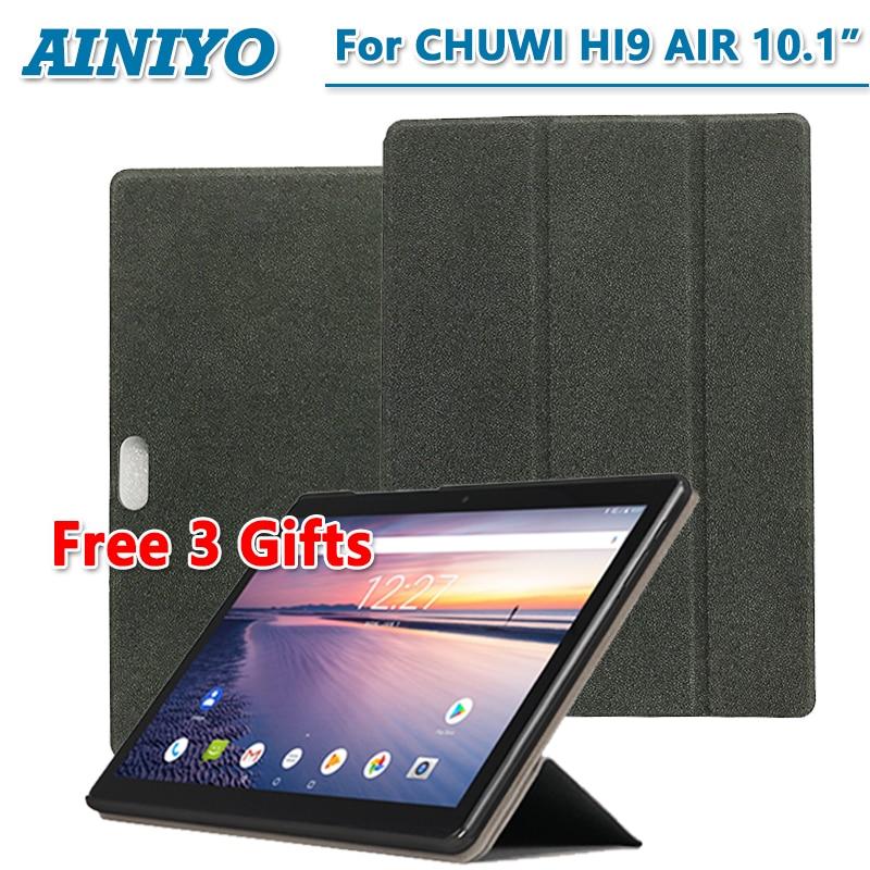 For CHUWI hi9 air case High quality Stand Pu Leather Cover For CHUWI hi9 air 10.1