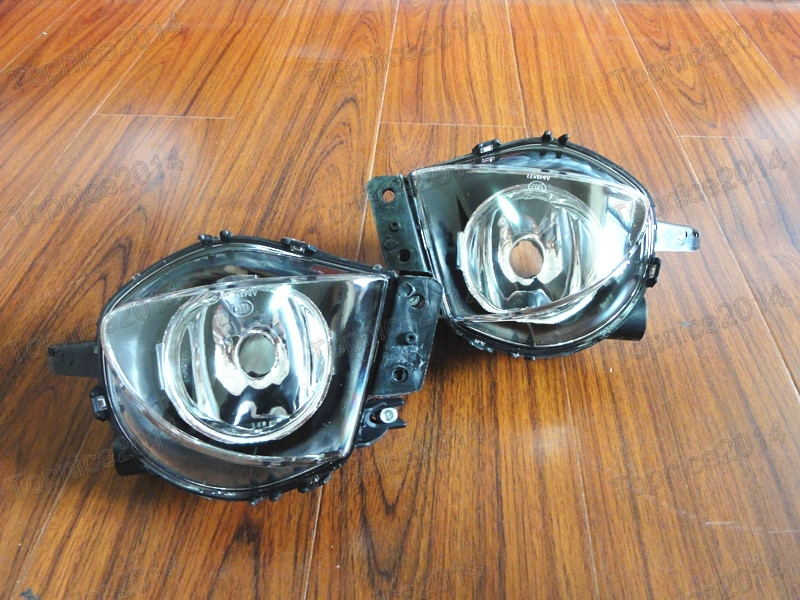 2Pcs Front Bumper Fog Light Fog Lamp Left & Right 63176948373 63176948374 For BMW E90 3 Series 2006-2008 front bumper fog light with 12v 55w 9006 bulbs for vw passat b6 3c 2006 2011 left right oem 3c0941699b 700b 992