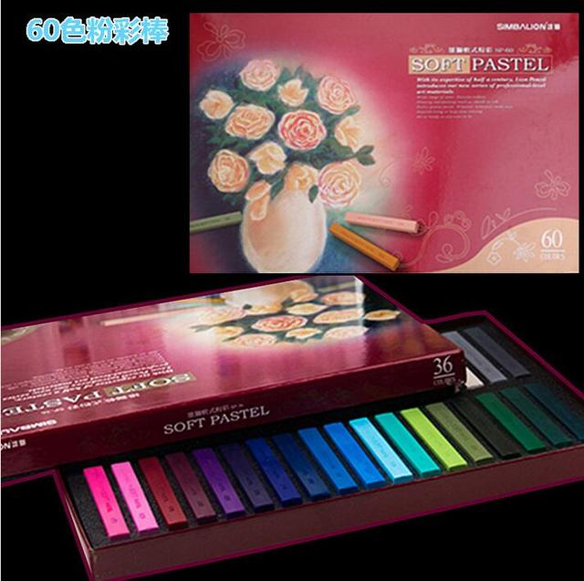 painting crayons soft pastel 12 24 48 60 colors set art drawing set