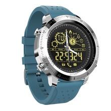 Baru Bluetooth Cerdas Menonton Pria Luar Kolam Olahraga Pedometer Jam Digital Waterproof IP68 Smartwatch Untuk IOS Android Phone