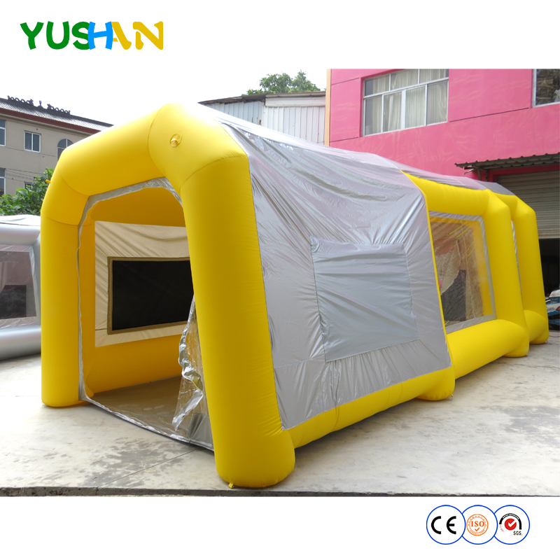 free shipment!giant inflatable paint tent/inflatable spray tent for car/used inflatable  ...