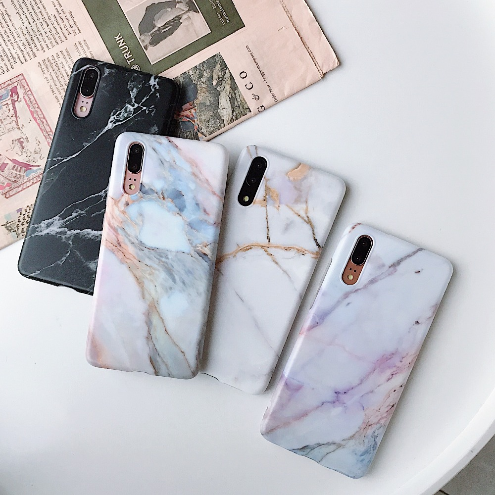 Marble-Case Flower A70-Cover Soft-Silicon Samsung S10e A50 S8-Plus For A40 S9