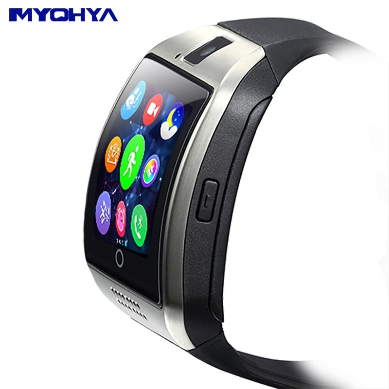 b3fa3b0fcfe MYOHYA Q18 relógio inteligente android gt conector montre relógio  inteligente relógio inteligente relógio das mulheres dos homens do bebê  android a partir ...