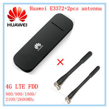 Открыл huawei E3372 E3372h-153 (плюс пара антенны) 4G LTE 150 Мбит/с USB модем 4G LTE USB Dongle E3372s-153 E3372h-607(China)