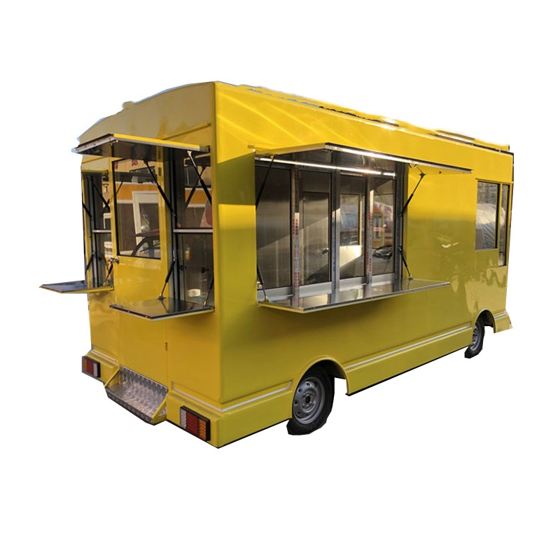 Buy A Food Truck >> Us 2600 0 Aliexpress Com Buy 2019 Can Customized Electric Food Truck Mobile Food Cart Fast Food Trailer For Sale From Reliable Food Processors