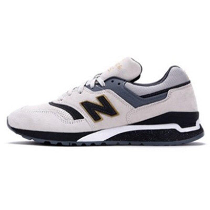 New Balance NB997 Mesh (air Mesh) Shoes Women Men Antique Sports Ml997hew Lace-up Sneaker Mens Tennis Shoes 997.5 lace up mesh babydoll