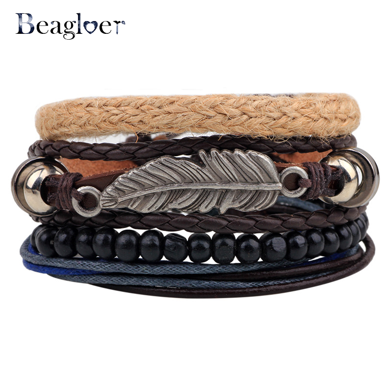 beagloer-moda-charme-pulseiras-bangles-para-homens-mulher-do-punk-de-couro-do-vintage-pulseiras-pulseiras-multiplas