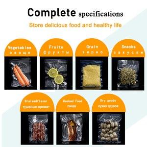 Image 5 - Saengq Leven Keuken Voedsel Vacuüm Zakken Voor Voedsel Opbergtas Voor Vacuüm Sealer Voedsel Lang Houden 12 + 15 + 20 + 25 + 30Cm * 500Cm 5 Rolls/Lot