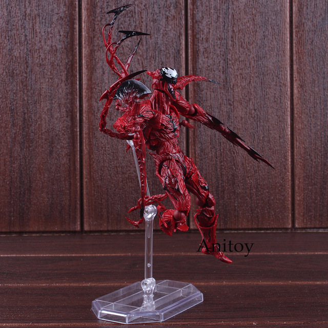 Amazing Yamaguchi Revoltech Series NO.008 Carnage Marvel The Amazing Spider-Man Action Figure 17cm
