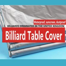Billiards Table Cover Quality Nylon Waterproof 8ft/9ft/10ft/12ft (optional)  Outdoor Snooker Table Coat