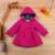 Niñas bebés Capa de La Chaqueta de Invierno Otoño Niños prendas de Vestir Exteriores de las Chaquetas de Ropa de Bebé Niñas Ropa de Abrigo Abrigos Casaco Menina
